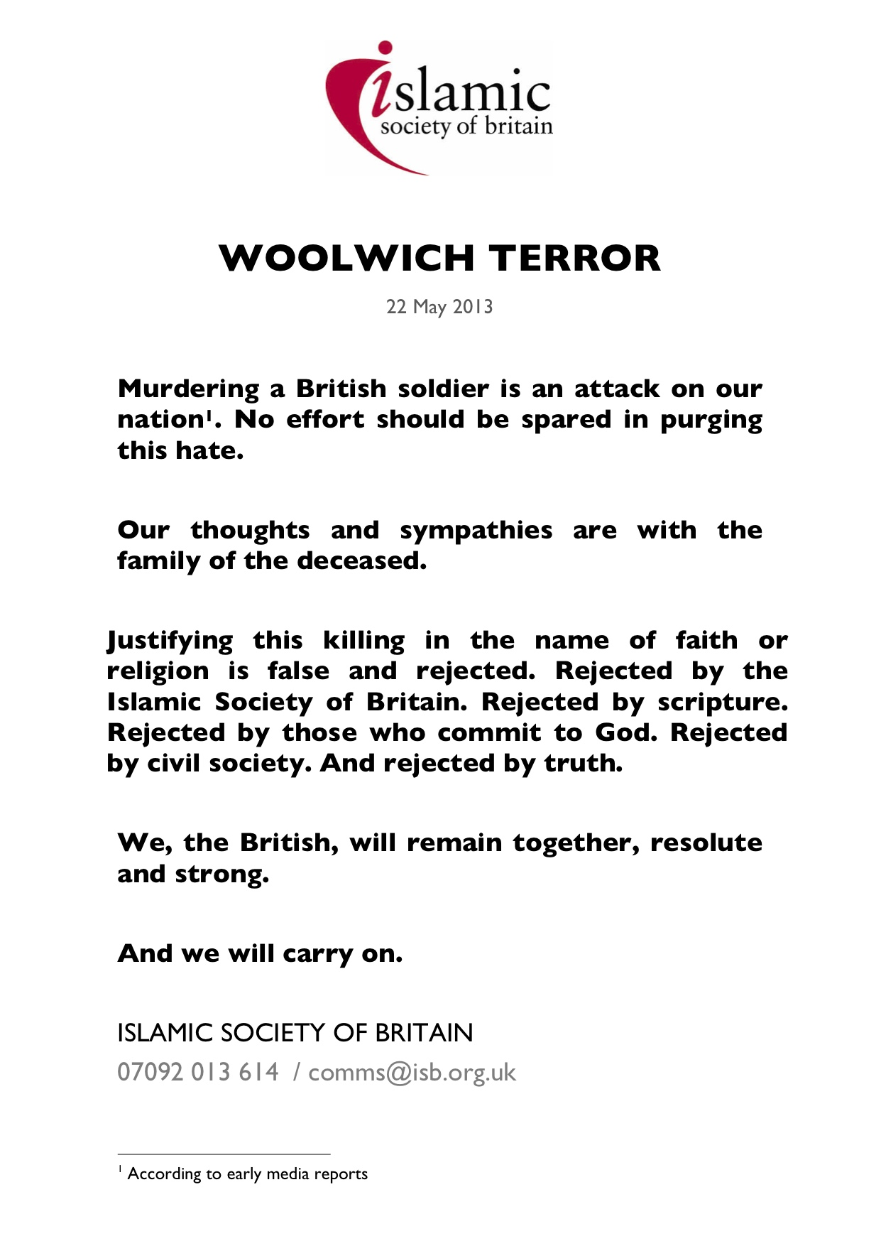 Woolwich Attack